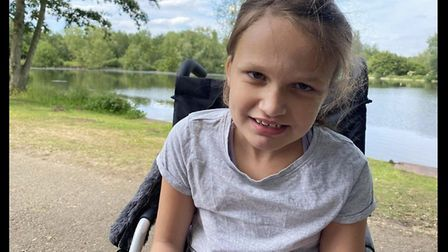 Sarah Bates' daughter, Maggie, has severe autism, profound learning disabilities, and is non-verbal