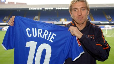 Darren Currie signed for Ipswich from Brighton & Hove Albion in December 2004
