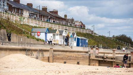 Southwold's north beach will have RNLI lifeguards patrolling this weekend Picture: SARAH LUCY BROWN