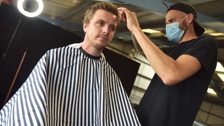 Nathan Lawrence opened Nates Barbers in Live Fit Gymas part of his first solo business venture. Byl