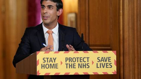 Chancellor Rishi Sunak previously announced the furlough scheme is being extended to October Picture