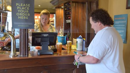 Pubs in Ipswich reopen for business. The Woolpack. Picture: SONYA DUNCAN