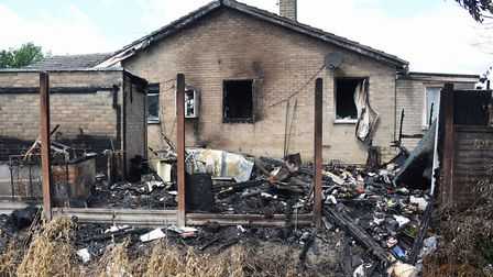 The Drake family are having to still live in their fire damaged home as they cannot find any lodging