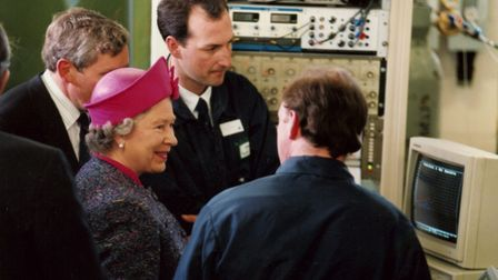 The Queen served as the charity's patron until 2016 Picture: ANDY ABBOTT