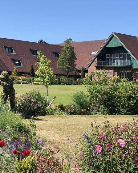 The beautiful grounds at Ufford Park Picture: Ufford Park