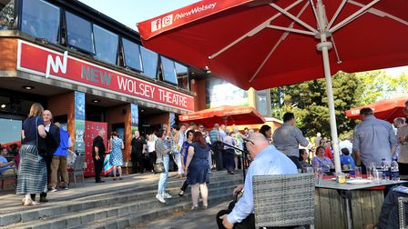 The New Wolsey, Ipswich is anxious to welcome back audiences after lockdown Picture by Lucy Taylor