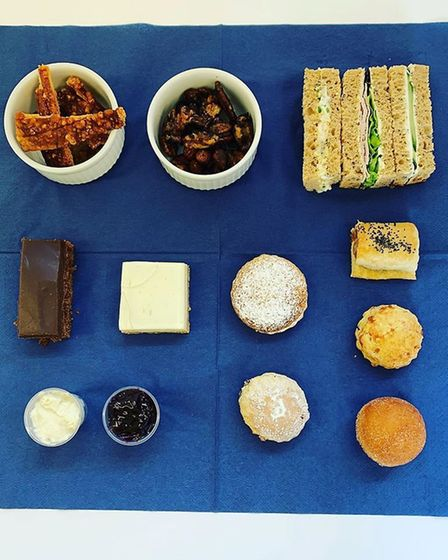 Country Cuisine's 'The Governor' tea for Father's Day Picture: COUNTRY CUISINE