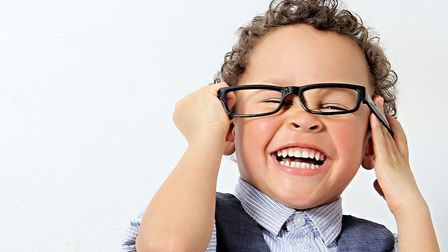 The best time for children to have their first eye exam is between the ages of three and five. Pictu