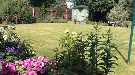 Colin and Julia Bowen sent this photo of their garden. Picture: COLIN AND JULIA BOWEN