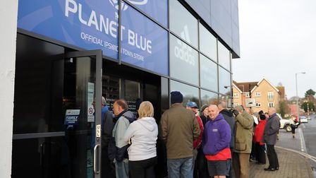The Planet Blue store has been closed for some time due to the coronavirus pandemic