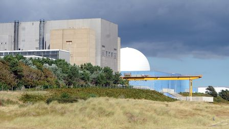 Sizewell A and Sizewell B nuclear power plants - EDF hopes to have Sizewell C sitting alongside Pict