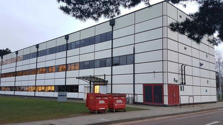 The Oberon Building at BT Adastral Park, where the new DigiTech Centre will largely be based. Pictur