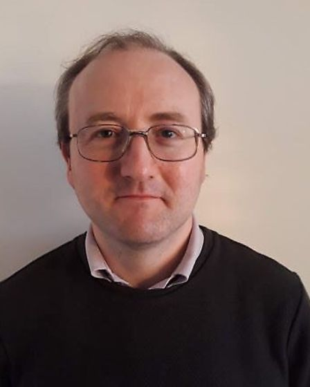 Professor Nicholas Caldwell, professor of information systems engineering at the University of Suffo