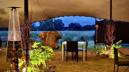 Eat lobster pasta and choux buns at Tuddenham Mill with beautiful countryside views Picture: Tudden