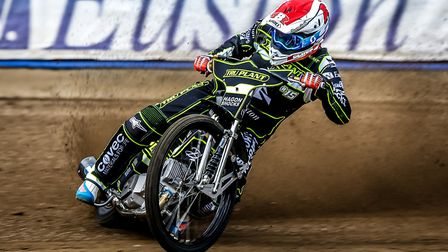 Superstar Jason Crump will ride for the Ipswich Witches this season Picture: STEVE WALLER