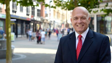 Terry Baxter, chief executive of Inspire Suffolk.