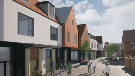 It is hoped the development will aid local first time buyers while revitalising the town centre Pic