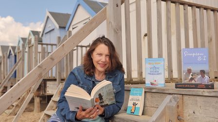 Meg Reid, director of Felixstowe Book Festival is taking this year's event online Photo: Sarah Lucy