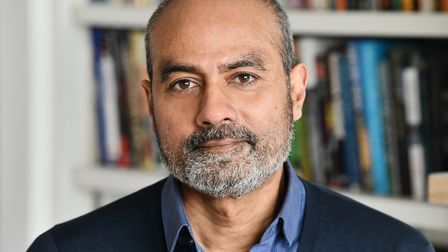 George Alagiah who is taking part in a digital discussion as part of this year's Felixstowe Book Fes