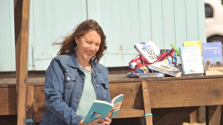 Meg Reid, director of Felixstowe Book Festival is making sure the event goes ahead this year by inte