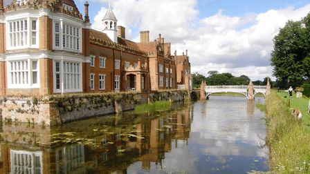 Helmingham Hall will be hosting a series of drive-in movies this summer Picture: PAMELA BIDWELL