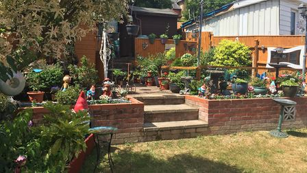 Sandra and Geoff Hindle's garden. Picture: SANDRA AND GEOFF HINDLE