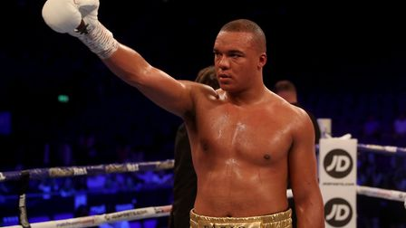 Fabio Wardley will meet Simon Vallily for the English heavyweight title on August 1. Picture: PA SPO