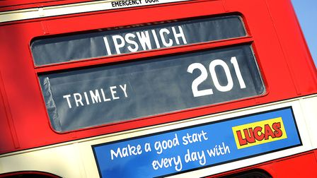 Do you remember travelling on a vintage Suffolk bus? Picture: ARCHANT LIBRARY