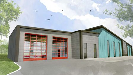 Plans have been revealed for a new shared base for Suffolk Constabulary and Suffolk fire and Rescue