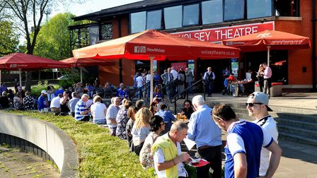 The New Wolsey Theatre is looking to welcoming back audiences again Picture by Lucy Taylor Photog