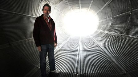 Eastern Angles director Ivan Cutting is hoping that there is light at the end of the lockdown tunnel