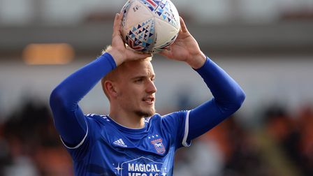 Luke Woolfenden has signed a new contract with Ipswich Town. Picture Pagepix Ltd
