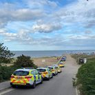 Police made one arrest for drugs offences at the site of the suspected rave Picture: CONTRIBUTED