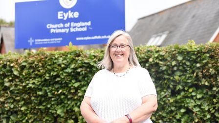 Annie Cutting will be leaving Eyke Primary School after 33 years of service Picture: CHARLOTTE BOND