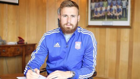 Goalkeeper Will Norris joined Ipswich Town on a season-long loan from Wolves at the end of July. Pic