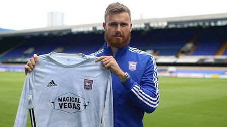 Will Norris came in to battle Tomas Holy to be Town's first choice keeper. Picture: ITFC