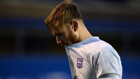 Ipswich goalkeeper Will Norris walks off the pitch after the draw against Coventry Picture Pagepix