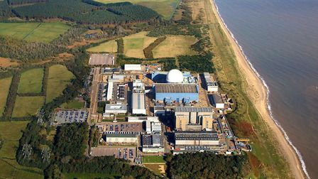 Sizewell C would be built to the north of the existing nuclear site Picture: Mike Page