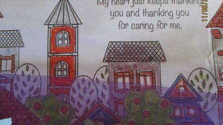 """Sue Oates, manager of Barking Hall said: """"�Everyone was really touched by this lovely gesture."""" Pict"""