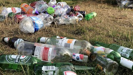 Ipswich environmentalist Jason Alexander has hit out at the 'feral few' who litter in the county Pi
