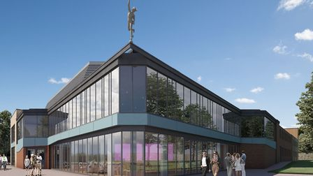Artist's impression of how the new-look Mercury Theatre may appear. This summer the theatre is launc