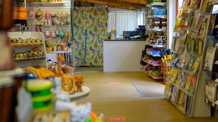 The Africa Alive! shop will be open but with signage and floor markings to ensure social distancing.