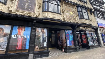 The former Jack Wills shop in Ipswich, which appears to have closed permanently. Picture: Archant