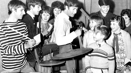 The Beatles pictured meeting fans at the Ipswich Gaumont. The day to day lives are the subject of Cr