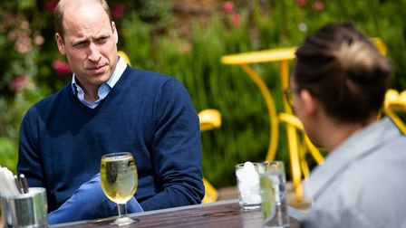 The Duke of Cambridge ordered a pint of the popular Suffolk beverage on his first pub trip post-lock