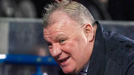Steve Evans guided Gillingham to tenth spot in League One - a place above Ipswich Town on points-per