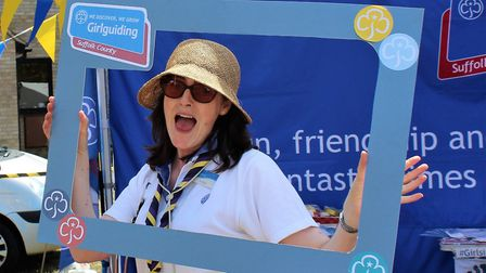 Jo Dixon has been involved in girlguiding since she was 10 years old and is a Suffolk County Outreac