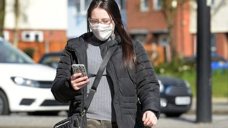 Face masks are rumoured to soon be mandatory in shops Picture: SARAH LUCY BROWN