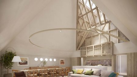 Proposals show what the Maltings in Woodbridge could look like once renovated Picture: Curry-Hyde LL