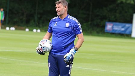 Jimmy Walker enjoyed seeing his keepers battle for the starting slot. Picture: ITFC